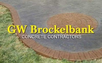 Welcome to GW Brockelbank Concrete Contractors!
