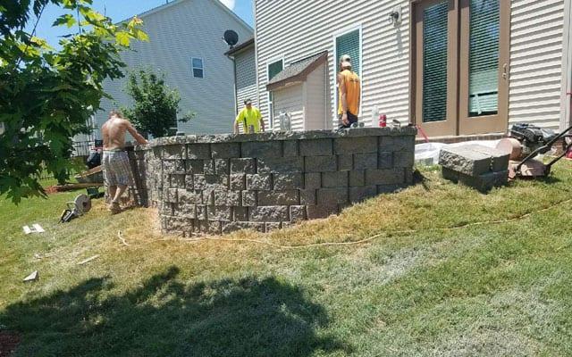 Concrete Patios Charlotte Nc Gw Brockelbank Concrete